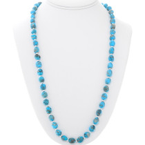 Natural Turquoise Navajo Necklace 39850