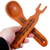 Native American Pottery Spoon 39860
