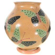 Mata Ortiz Butterfly Pot 39864