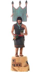 Vintage Hopi Hemis Butterfly Kachina Doll