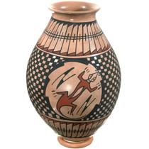 Mata Ortiz Polychrome Lizard Pottery 39881