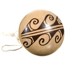 Hopi Pottery Rattle Ornament 39886
