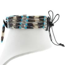 Native American Bone Bead Choker 39889