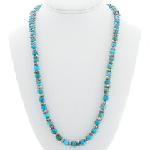 Native American Turquoise Bead Necklace 39892