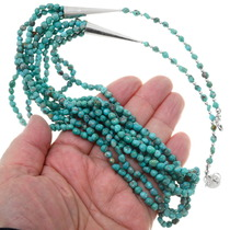 Green Turquoise Necklace 39894