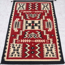 Large Southwest Wool Rug 39909