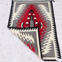Hand Woven Native American Wool Rug 39910