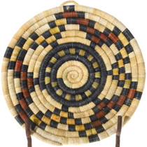 Vintage Hopi Coiled Wall Basket 39912