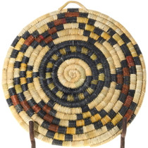Native American Hopi Tribe Hand Woven Basket Tray 39912