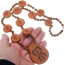 Native American Pottery Necklace 39887