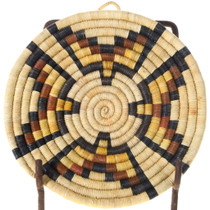 Hopi Pueblo Birds Design Basket Tray 39923