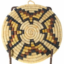 Native American Coiled Wall Plaque Hopi Pueblo 39923