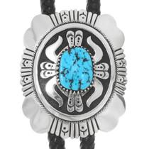 Native American Turquoise Nugget Bolo Tie 39934