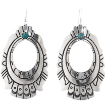 Turquoise Silver Earrings 30210