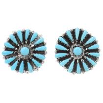 Sleeping Beauty Turquoise Cluster Earrings 39971