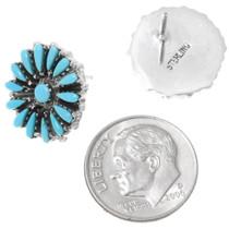 Western Turquoise Sterling Silver Earrings 39971