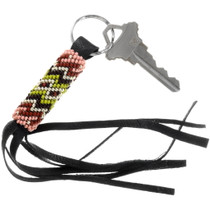 Native American Southwest Beaded Key Ring 39987