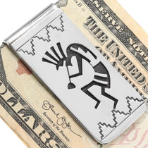 Navajo Kokopelli Symbol Money Clip 39993