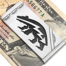 Native American Bear Money Clip 39995