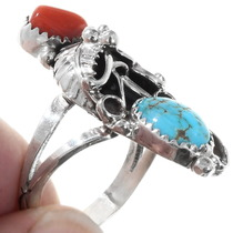 Arizona Turquoise Sterling Silver Ring 40012
