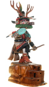 Intricate Detailed Cottonwood Kachina Carving 40017