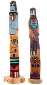 Vintage Native American Kachina Dolls 40018