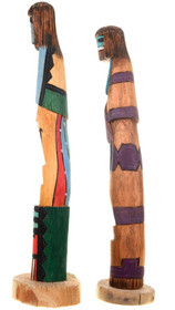 Hand Carved Shalako Kachina Dolls 40018
