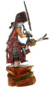 Vintage Native American Sunface Kachina Doll 40021