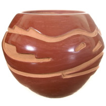 Hand Coiled Native American Pottery 40024