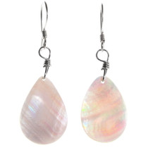 Mother of Pearl French Hook Earrings 40032