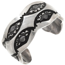 Sterling Silver Native American Bracelet 40115