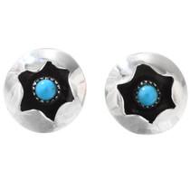 Silver Turquoise Earrings 40124