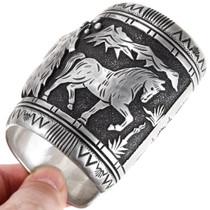 Original Tommy Singer Handmade Sterling Silver Mens Bracelet 40154