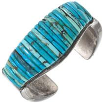Old Pawn Inlaid Turquoise Bracelet 40182