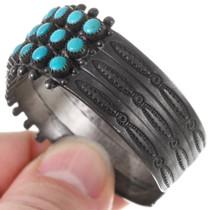Old Pawn Sterling Silver Zuni Bracelet 40189