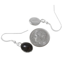 Sterling Silver Black Onyx Earrings 40237