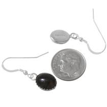 Sterling Silver Black Onyx Earrings 40237