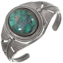 Vintage Green Turquoise Bracelet 40254