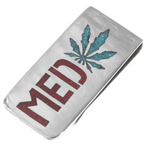 Medicinal Marijuana Money Clip 40258