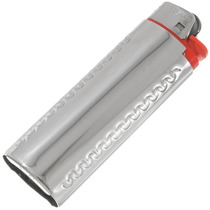 Dad's Turquoise Silver Bic Lighter Case 40260