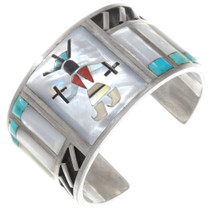 Old Pawn Zuni Kachina Bracelet 40266