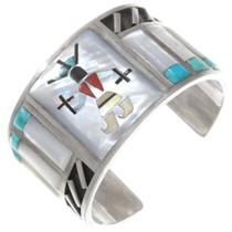 Old Pawn Zuni Kachina Bracelet 40266