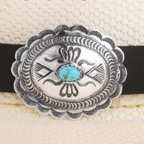 Old Pawn Style Navajo Silver Hatband 40267