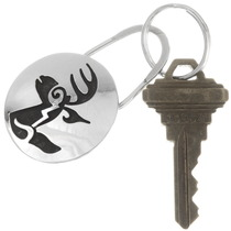 Silver Deer Key Chain 40283
