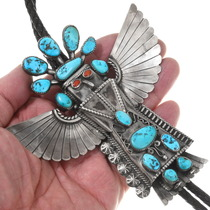 Native American Eagle Kachina Bolo Tie 40297