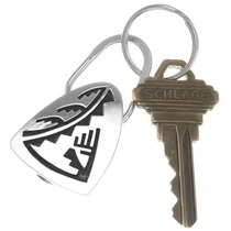 Native American Pueblo Silver Key Ring 40302