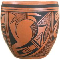 Vintage 1960s Hopi Pottery Jar 40304