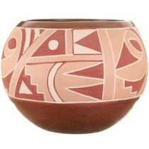 Hand Painted Native American Pottery 40305