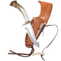 Vintage Antler Handle Gut Hook Knife 40318