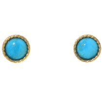 Gold Turquoise Earrings 40329